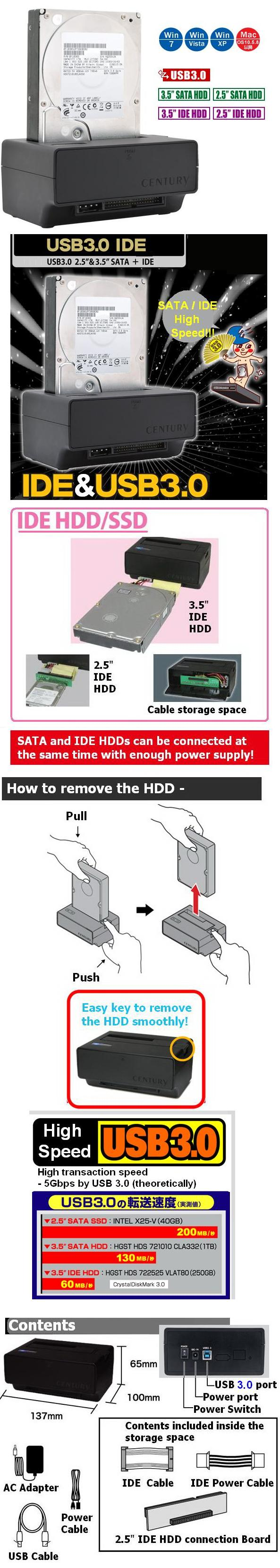 Century Connect Ide To Usb Cable Wiring Diagram High Speed 30 Transaction Is Build In